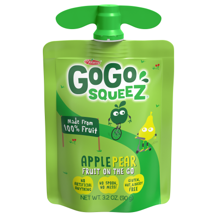 GoGo squeeZ<sup>®</sup> Apple Pear