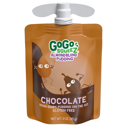 GoGo squeeZ<sup>®</sup> AlmondBlend Pudding Chocolate